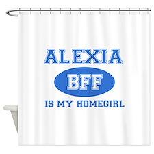 Alexia BFF designs Shower Curtain