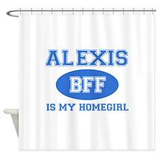 Alexis BFF designs Shower Curtain