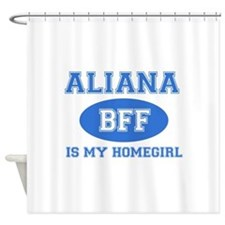 Aliana BFF designs Shower Curtain