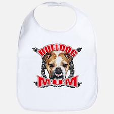 Bulldog Mom Bib