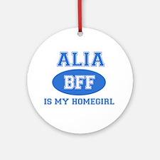 Alia BFF designs Ornament (Round)
