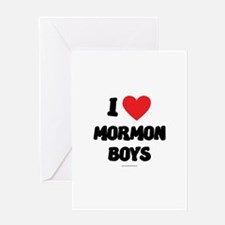 I Love Mormon Boys - LDS Clothing - LDS T-Shirts G
