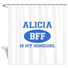 Alicia BFF designs Shower Curtain