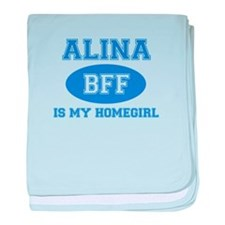 Alina BFF designs baby blanket