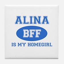 Alina BFF designs Tile Coaster