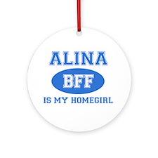 Alina BFF designs Ornament (Round)