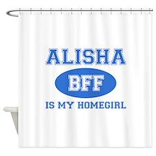 Alisha BFF designs Shower Curtain