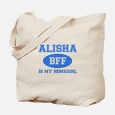 Alisha BFF designs Tote Bag