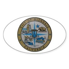 City of Glendale Oval Decal