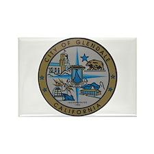 City of Glendale Rectangle Magnet