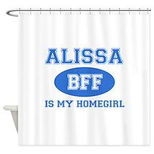 Alissa BFF designs Shower Curtain
