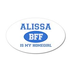 Alissa BFF designs Wall Decal