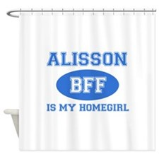 Alisson BFF designs Shower Curtain