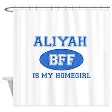 Aliyah BFF designs Shower Curtain