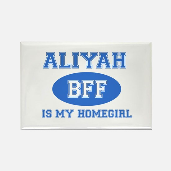 Aliyah BFF designs Rectangle Magnet