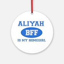 Aliyah BFF designs Ornament (Round)