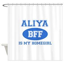 Aliya BFF designs Shower Curtain