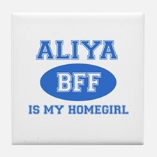 Aliya BFF designs Tile Coaster