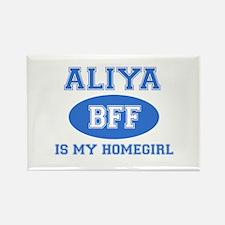 Aliya BFF designs Rectangle Magnet