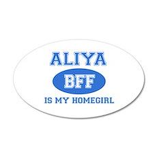 Aliya BFF designs Wall Decal