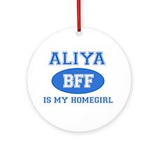 Aliya BFF designs Ornament (Round)