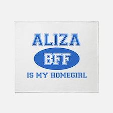 Aliza BFF designs Throw Blanket