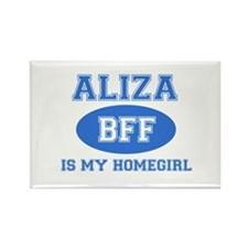Aliza BFF designs Rectangle Magnet