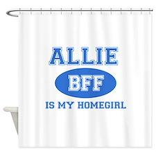 Allie BFF designs Shower Curtain