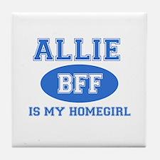Allie BFF designs Tile Coaster