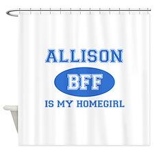 Allison BFF designs Shower Curtain