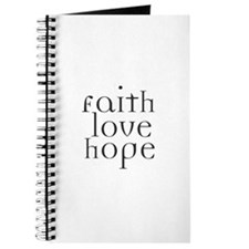 Faith Love Hope Journal
