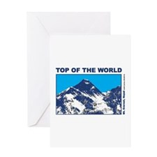 Mount Everest Printed Greeting Card