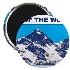 Mount Everest Printed Magnet