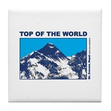 Mount Everest Printed Tile Coaster