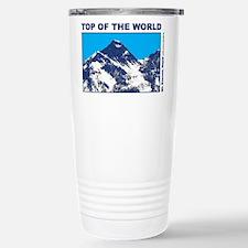 Mount Everest Printed Travel Mug