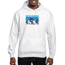 Mount Everest Printed Hoodie