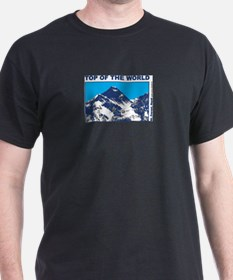 Mount Everest Printed T-Shirt