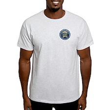 Hub of the Harbor Ash Grey T-Shirt