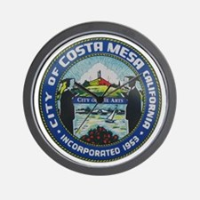 Costa Mesa - City of the Arts Wall Clock