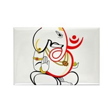 Beautiful Ganesh Rectangle Magnet