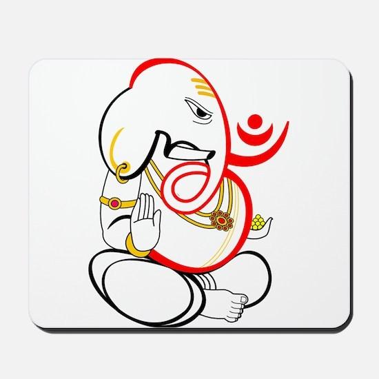 Beautiful Ganesh Mousepad