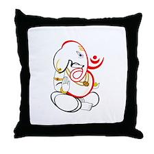 Beautiful Ganesh Throw Pillow