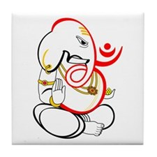 Beautiful Ganesh Tile Coaster