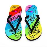 Piano student Flip Flops