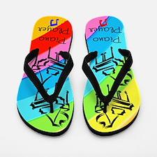 PIANO PLAYER Flip Flops