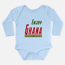 Ghana Designs Long Sleeve Infant Bodysuit