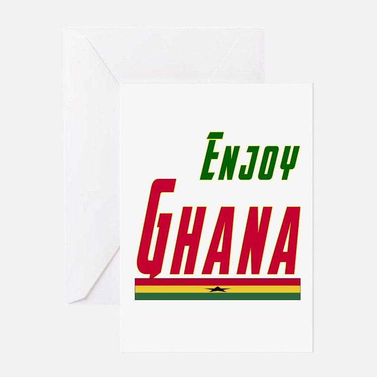 Ghana Designs Greeting Card