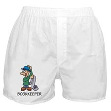Bookkeeper Boxer Shorts