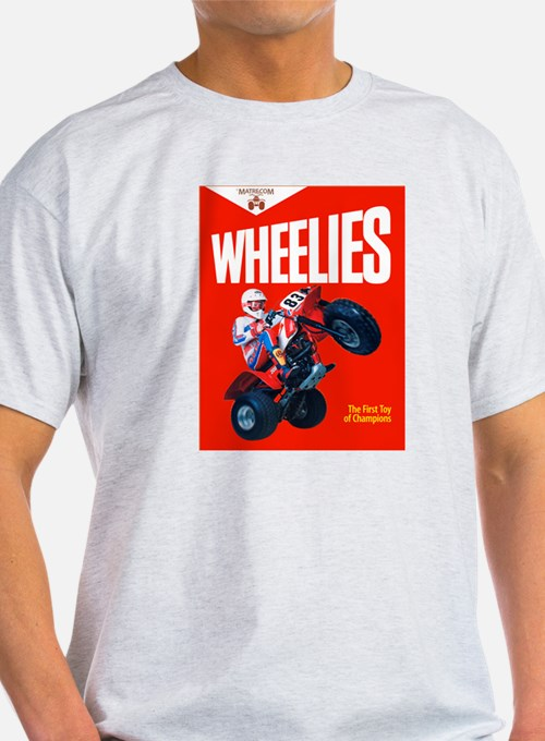 WHEELIES Ash Grey T-Shirt