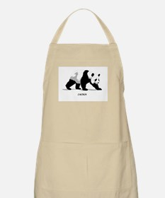 China BW Panda BBQ Apron